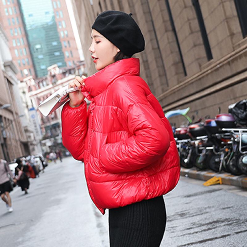 New Ultra Light White Duck   Down   Jacket Slim Women Winter Puffer Jacket Portable Windproof   Down     Coat