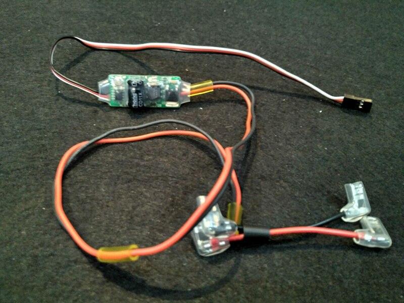 Remote Kill RC Switch Baja Fit HPI Baja 5B SS 5T 5SC Losi 5ive-T FG Marder Rovan Gas Engine Using 3rd Channel Marine NEW