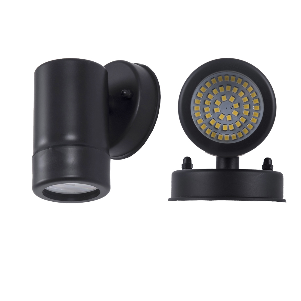Round SMD 5W LED Outdoor lighting Head wall Sconce exterior wall lamp modern wall mounted LED wall light
