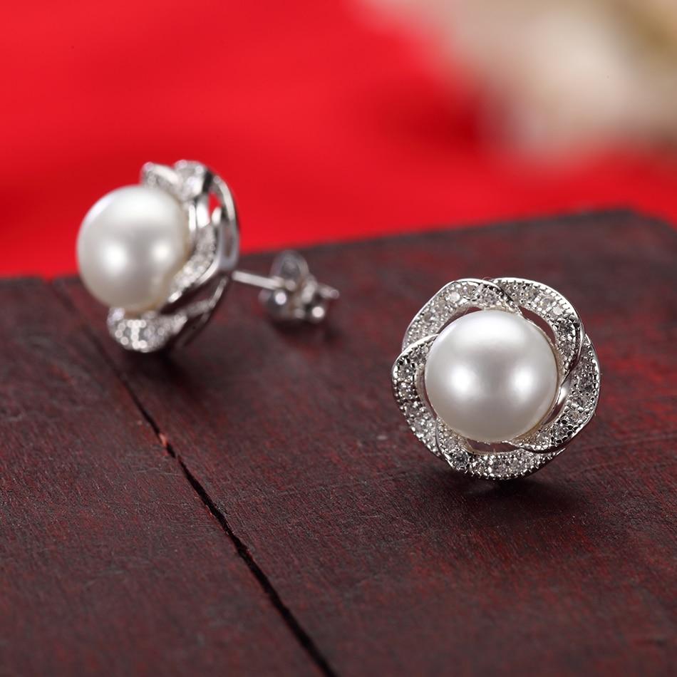 opal cat/'s eye stone Prevent allergies Sterling 925 silver Stud earrings YS06