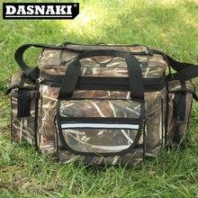 New fishing bag 35*20*28CM Nylon Bag Multifunction for fishing Reels and Lures Bag fishing big Capacity fishing accessories bag