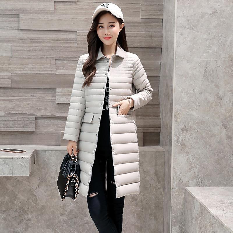 Et burgundy Hiver Revers black gray Le Magnifique Pink Femmes Section Vers D'hiver Automne Vêtements Saisons Mince Élégant Veste Bas Longue De wq4fXRE4