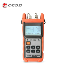 Envío Gratis CY190S FC/conector de PC CY190S OTDR SM 60KM/1310/1550nm + 1mW VFL probador de cable de fibra óptica Localizador visual de fallos