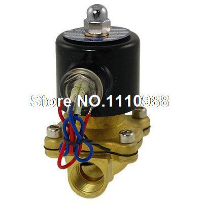 AC 110V 2 Position 2 Way 1/2 Direct Acting Solenoid Valve