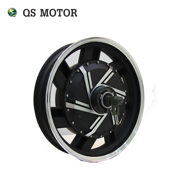 17inch <font><b>4kW</b></font> 273 40H V2 Brushless <font><b>DC</b></font> Electric Scooter Motorcycle electric Hub <font><b>Motor</b></font> image