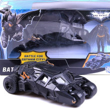 original mattels Avengers Superhero Movie Batman Chariot Rise of Dark Knight ToysChariot PVC Action Figure Collectible Model Toy(China)