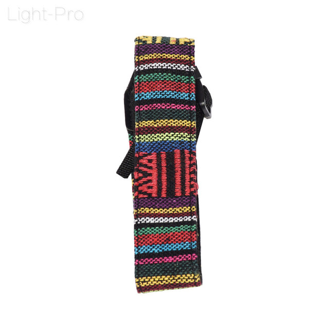Retro Style Double Cotton Yard Colorful Pattern Camera Shoulder Neck Sling Hand Strap Belt For Canon Nikon DLSR Camera