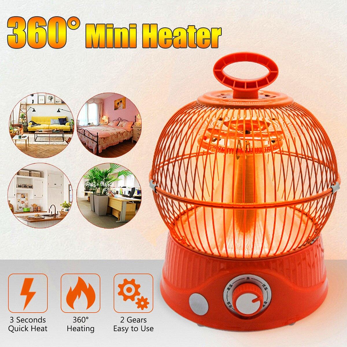 220V 900W Electric Heater Mini Fan Heater Desktop Household Heater Stove Radiator Warmer Machine Heater Fan For Winter