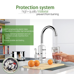 Image 3 - KBAYBO grifo calentador de agua eléctrico para cocina, calentador de agua caliente instantáneo sin depósito, 3000