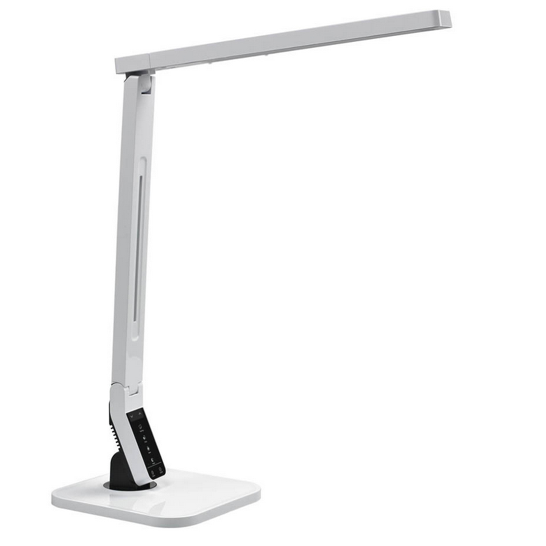 Iguardor Multi-function Eye Protection Table Lamp USB Charging Reading Working 4 Color Temperatures Control Timing Light US Plug luminat eye care led usb lamp clip on light screw clamp touch sensitive control function perfect reading lamp reading light