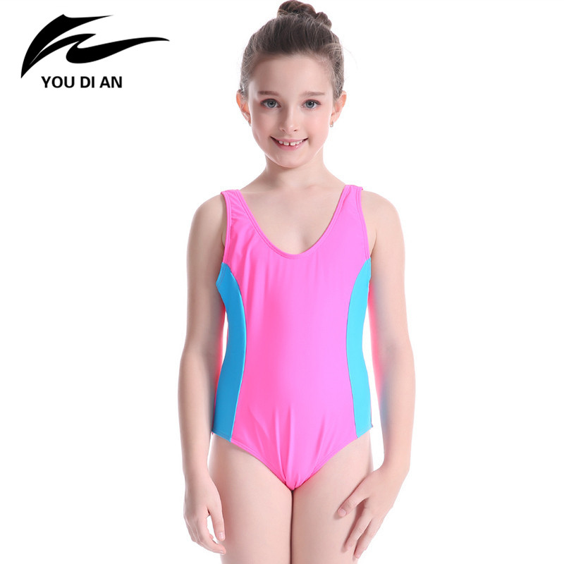 Cute Kids Swimsuits One Piece Bathing Suits Sleeveless ...