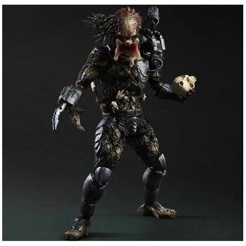 26CM PA Predator Anime Figure Dolls Predator Action Figure PVC Statue Joint Movable Ver Model Decoration Toy Gift H440