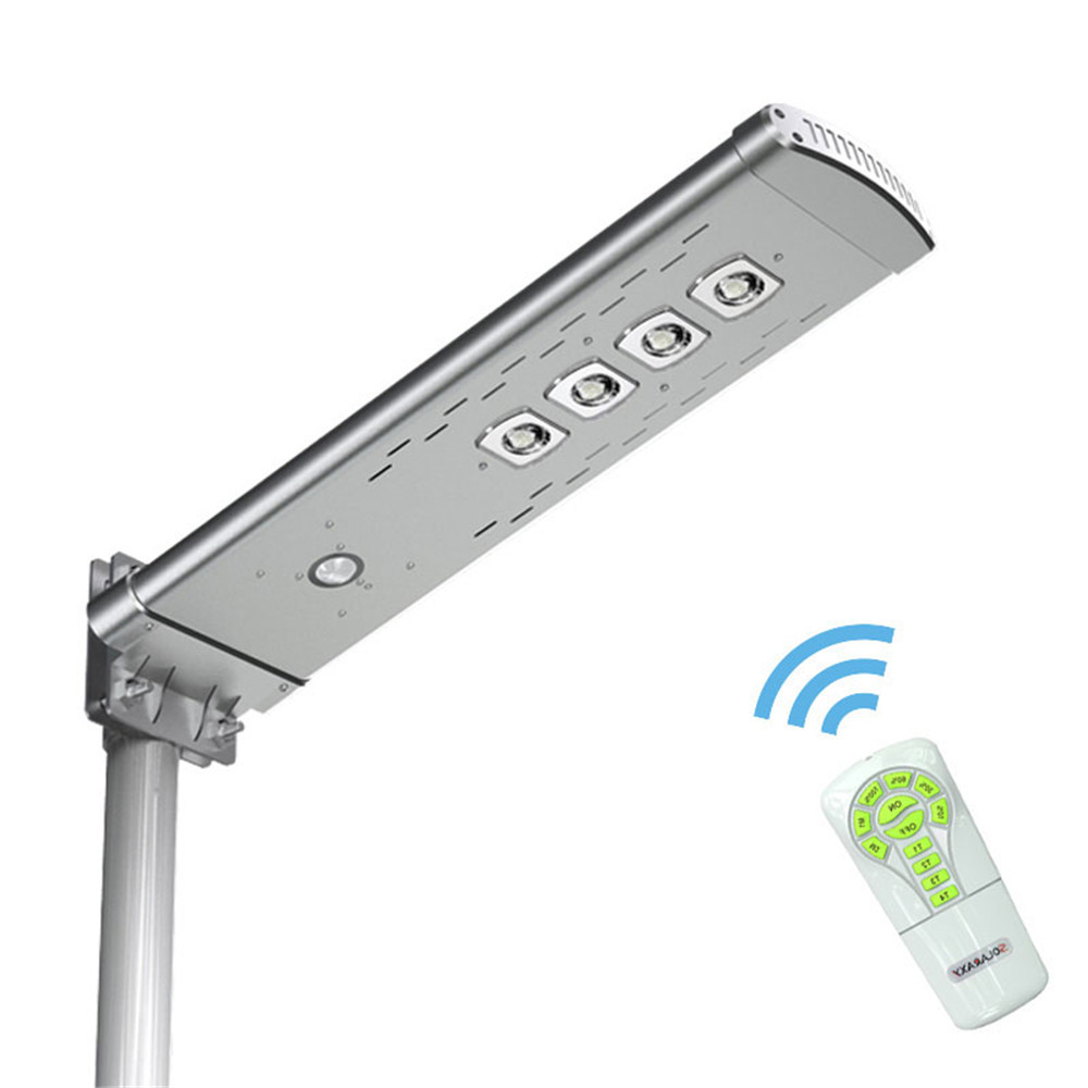30W LED Solar Street Light Outdoor Waterproof IP65 Motion Sensor Remote Control Solar Power Led Light Garden Yard Street Lamp