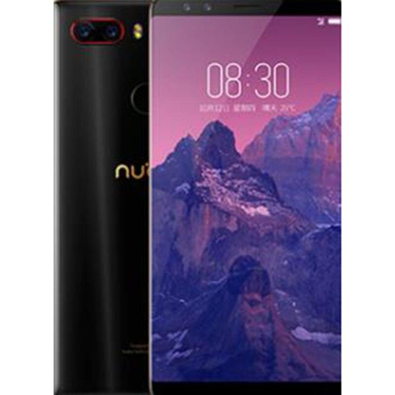 Mondiale Firmware Nubia Z17, 6G 64G Plein Écran Mobile Téléphone, Snapdragon 835 Octa base 5.73