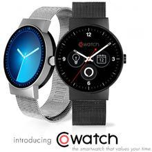 2016 neu Kommen Smartwatch Cowatch Aus Echtem Leder Herz Rate Tracker Wasserdicht IP67 Kompatibel Mit Android MontreBluetooth