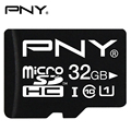 PNY Micro SD Flash Memory Card 32GB 16GB 8GB MicroSD Card SDHC Max 40M/s Class 10 UHS-1 U1 TF Trans Flash Mikro Card for Tablet