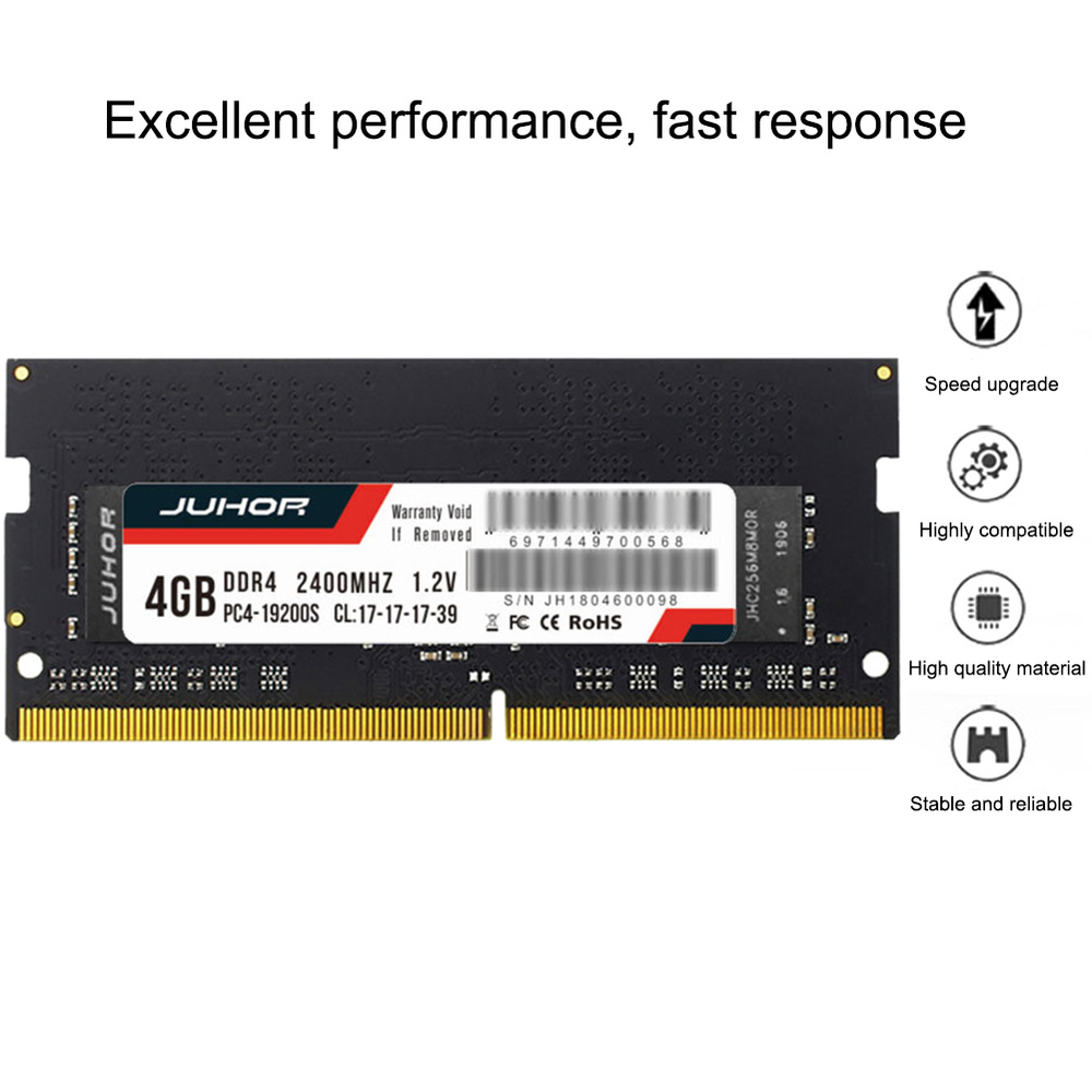 Ram DDR4 DDR3 <font><b>DDR3L</b></font> <font><b>4GB</b></font>/8GB <font><b>1600</b></font>/2400/2666/2133MHZ Interface Type 260pin Memory Voltage 1.2V memory ram For Laptop Notebook New image