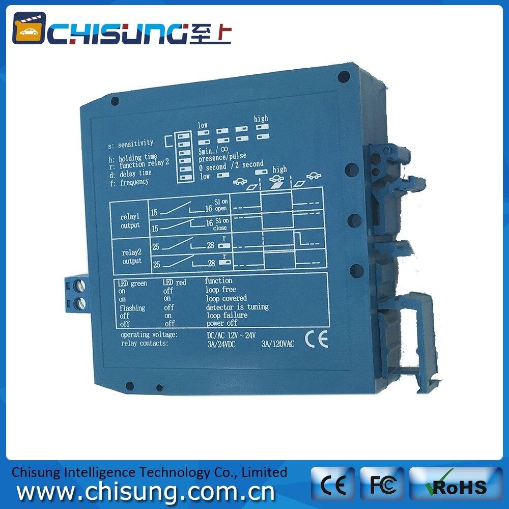 Vier klasse adjustable Dual 12 V/24VDC Schleife Fahrzeugdetektor ...