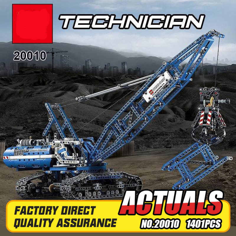 Здесь продается  Lepin MOC 20010 New 1401Pcs Genuine Technic Mechanical The Crawling Crane Set Building Blocks Bricks Educational Toys 42042  Игрушки и Хобби