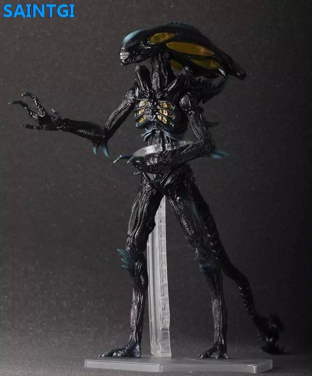SAINTGI Alien:Covenant Alien Vs. Predator Alien PVC 36CM Big Size Action Figure Collection Model Dolls Kids Toys