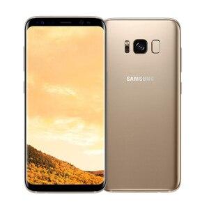 Image 2 - Original Unlocked Samsung Galaxy S8/S8 PLUS 4GB RAM 64GB ROM Single Sim Octa Core Android Phone Fingerprint Mobile phone