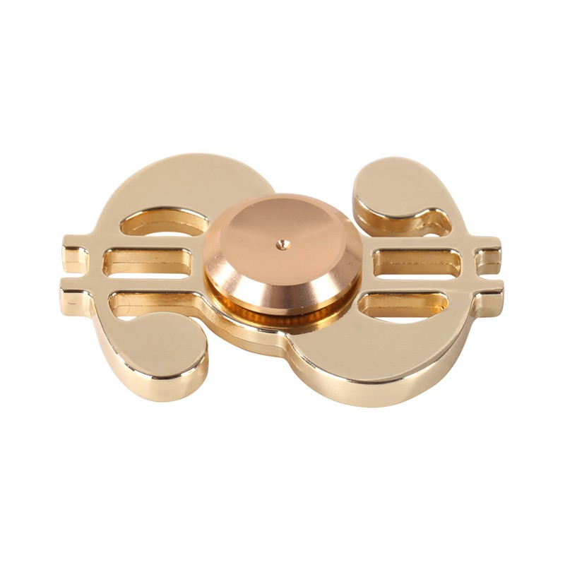 Finger Spinner Zinc alloy Fidget EDC Hand Spinner For Autism and ADHD Relief Focus Anxiety Stress Toys Gift For Adult