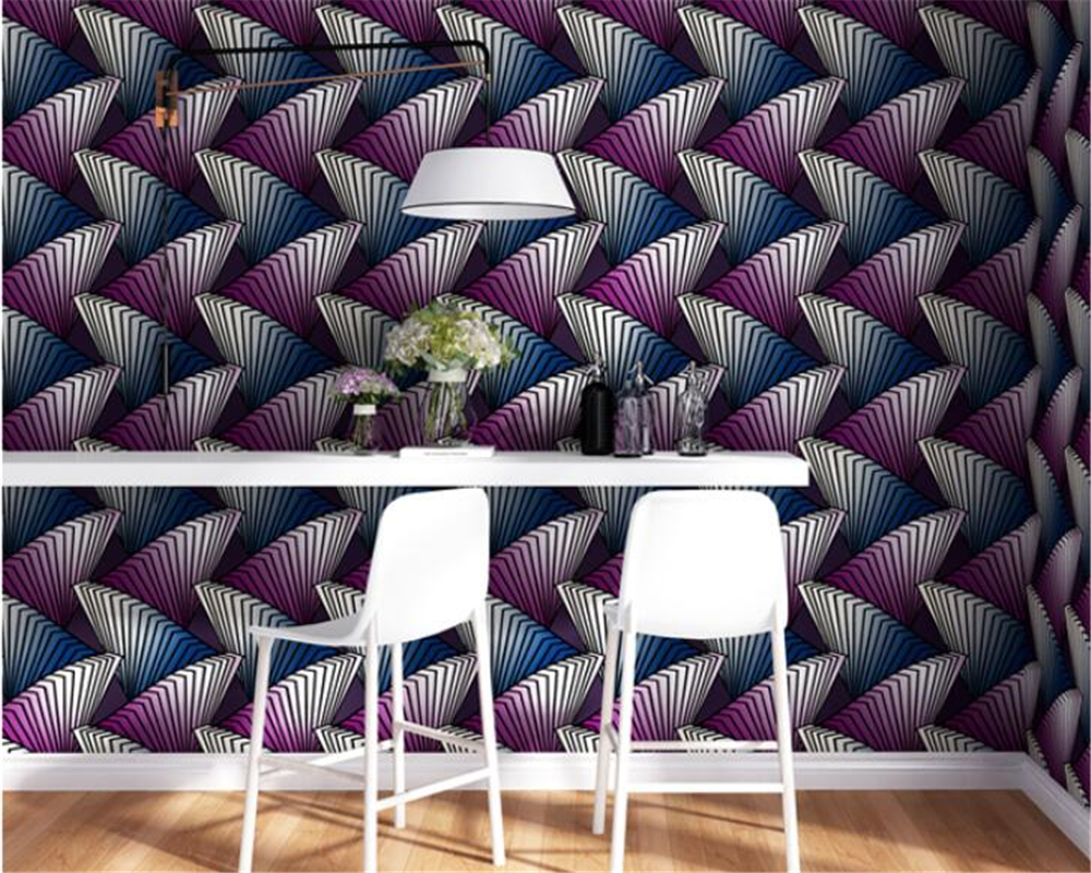 beibehang European fashion PVC Abstract 3 deep press wallpaper bedroom room wallpaper papel de parede papel parede wall paper beibehang papel de parede fashion