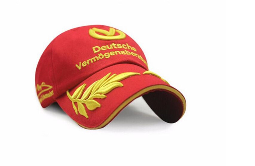 Michael Schumacher Formula 1 Racing Cap Snapback Baseball Hats Men Women Embroid