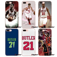 d08b19f211d Transparent Soft Shell Covers Jimmy Butler For Huawei P Smart Y6 Ascend P8  P9 P10 Plus