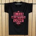 T-shirt do homem do algodão 3d engraçado binyud abençoe amor estilo t-shirt dos homens de manga curta 2017 verão marca clothing além tamanho 5xl