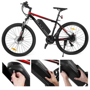 Image 3 - Hailong Li oin Battery with USB 48V13Ah 48V 17AH Electric Bike Downtube Battery with charger for 250W 500W 750W 800W 1000W Motor