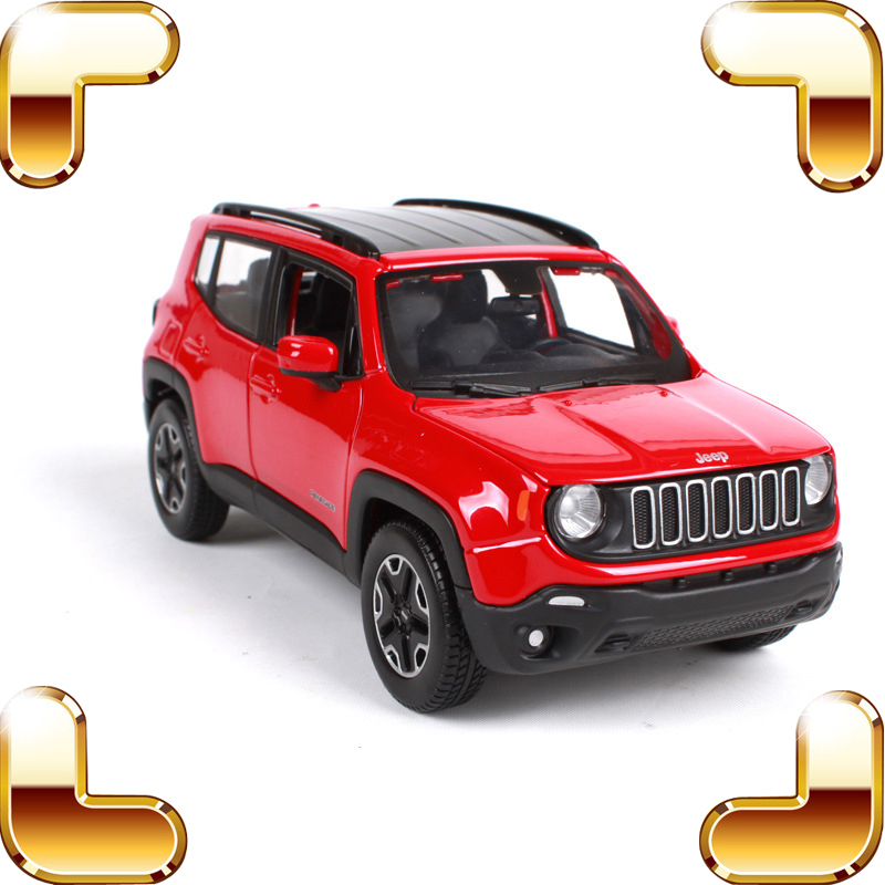 New Arrival Gift 1:24 Model Metal Car Collectible Vehicle Models Scale Diecast SUV Toy Decoration Heavy Collection Nice Present saintgi range rover suv diecast metal alloy car classical model boysgift vehicle simulation evoque collection 1 24 scale