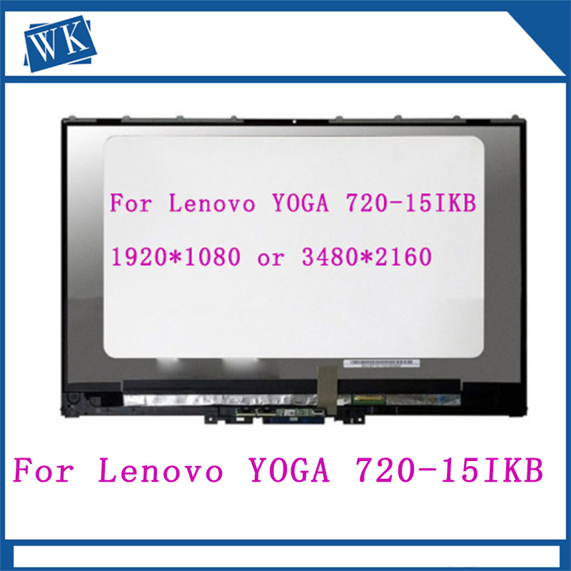 Original For Lenovo YOGA 720-15IKB YOGA 720 15 screen assembly N156HCE-EN1 LCD screen free shippingOriginal For Lenovo YOGA 720-15IKB YOGA 720 15 screen assembly N156HCE-EN1 LCD screen free shipping