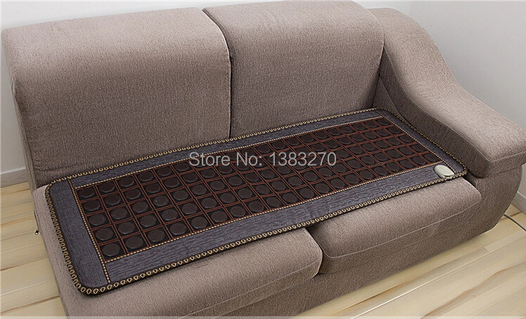 2017 hottest Natural Jade Heated Cushion Germanium Tourmaline Mats Physical Therapy Mat Heated 70 Celsius Health Care 50*150CM best selling korea natural jade heated cushion tourmaline health care germanium electric heating cushion physical therapy mat