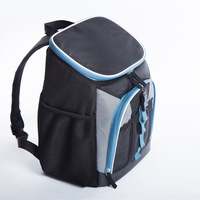 Black oxford big cooler bag thermo lunch picnic box insulated cool backpack ice pack car fresh carrier thermal shoulder bags
