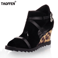 Women High Heel Sandals Wedges Ladies Gladiator Open Toe Shoes Summer Platform Fashion Sandals Zapatos Mujer