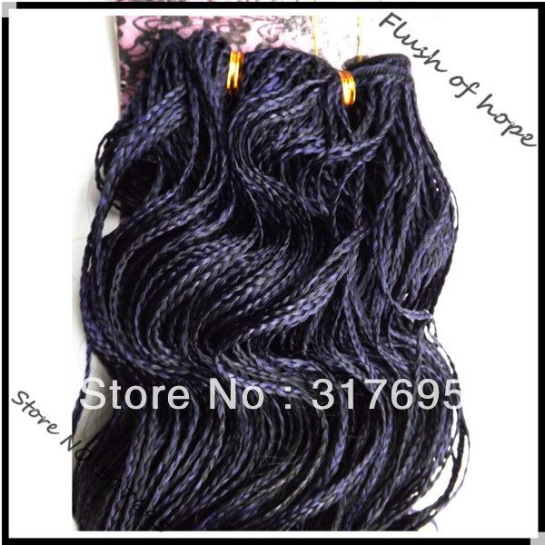 Free Shipping Kanekalon Micro Braid Weft Synthetic Hair Extensions Weaving Color 2 1b Purple 16 100g Pc On Aliexpress Alibaba Group