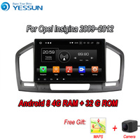 YESSUN Android 8 4G RAM For Opel Insignia 2009~2012 Car Navigation GPS Multimedia Player mirror link Radio Touch Screen