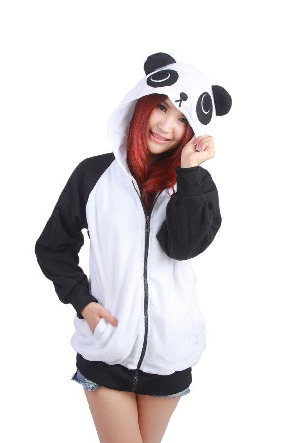Wow!!! Bebas biaya kirim! Jepang Lucu Kostum Cina Panda Telinga Wajah - Pakaian Wanita - Foto 4