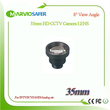 Marviosafer HD 35MM CCTV IP Network/AHD/CVI/TVI Camera Lens M12*0.5 Mount 8 degree View Angle, Long Distance Monitor