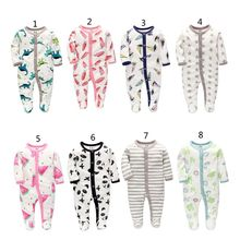 InfaCartoon Baby Clothes Girl&Boys Long Sleeve Jumpsuits Rompers Grow Sleepsuits Romper