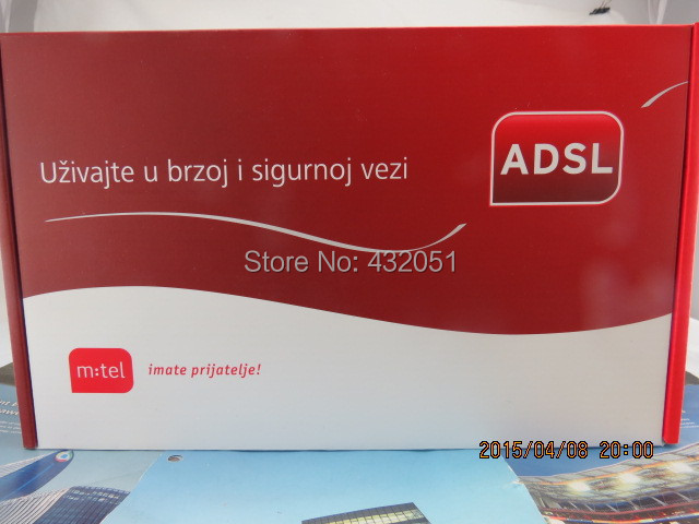 Huawei HG530 ADSL + WiFi wireless router Vivacom NET Russian Hot Products