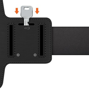 Armband For Size 4'' 4.5'' 4.7'' 5'' 5.5'' 6'' inch Sports Cell Phone Holder Case For iphone Huawei Samsung Xiaomi Phone On Hand 5