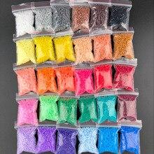 """500 шт./пакет perler PUPUKOU бусины 2,6 мм Хама бусины для детей образовательных головоломки игрушки """"Сделай своими руками"""" предохранитель Pegboard"""