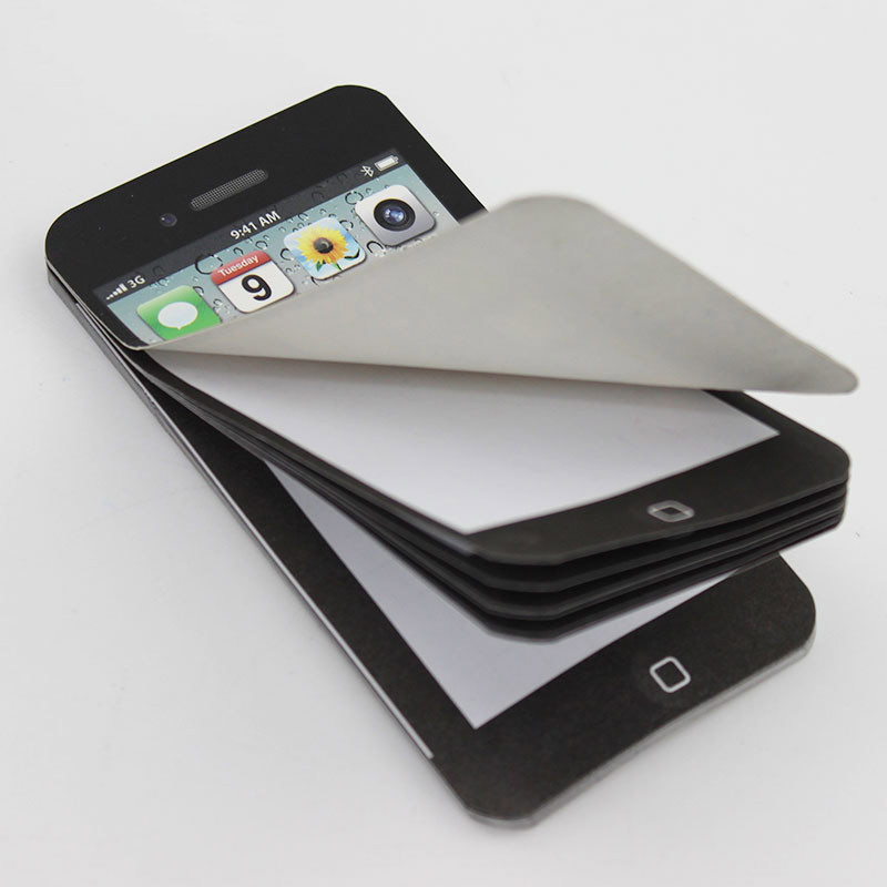 aeProduct.getSubject()  1PC New Arrival Sticky Notice Paper Cell Cellphone Formed Memo Pad Reward Workplace Provides HTB1y