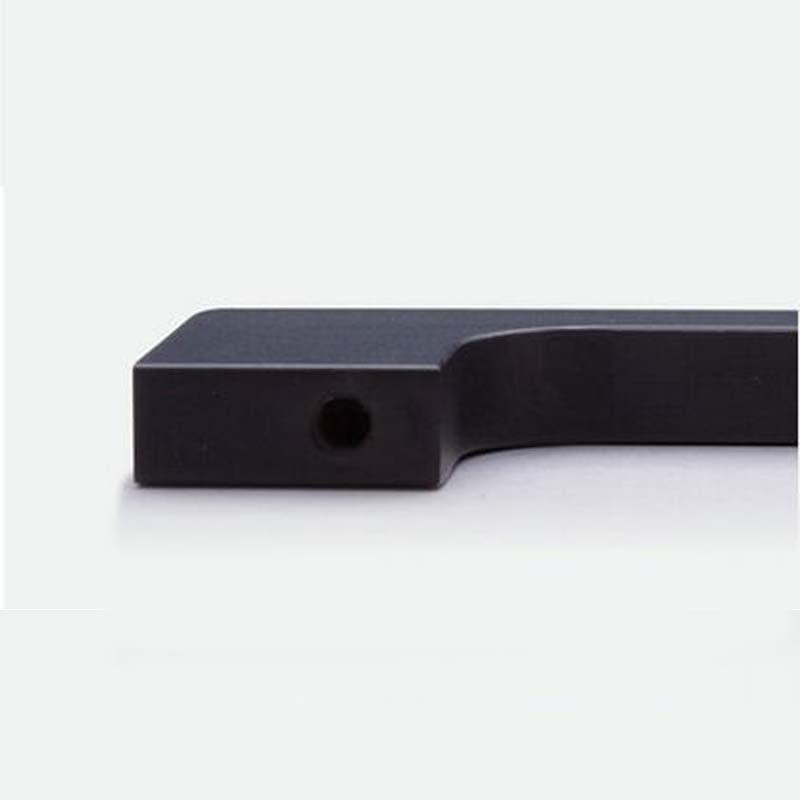 6.3 garderobe deurklink zwart dresser keukenkast deur pull 160mm meubels decoratie handles pulls knoppen - 2