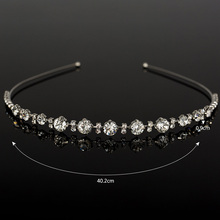 Silver Plated Chunky Chain Head Band