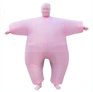 Image 2 - Женский надувной костюм Chub, костюм для косплея на Хэллоуин, 9 цветов