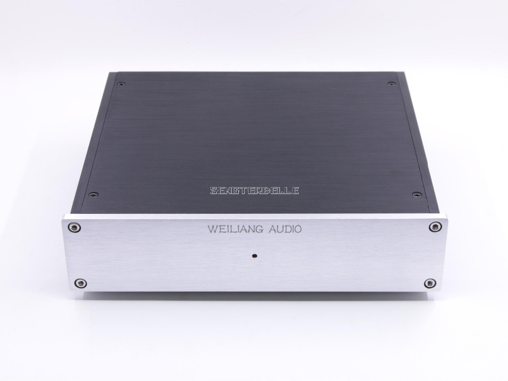 Finished HIFI DUAL Circuit Turntable MM MC Assembled Amplifier For Phono Stage