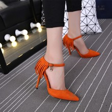 Schnalle Supercolor Schnalle Frühling Herbst Stilletos Schuhe Für Frauen Kleine Größe Einfache Knoechelriemchen Beliebtesten Schweinsleder